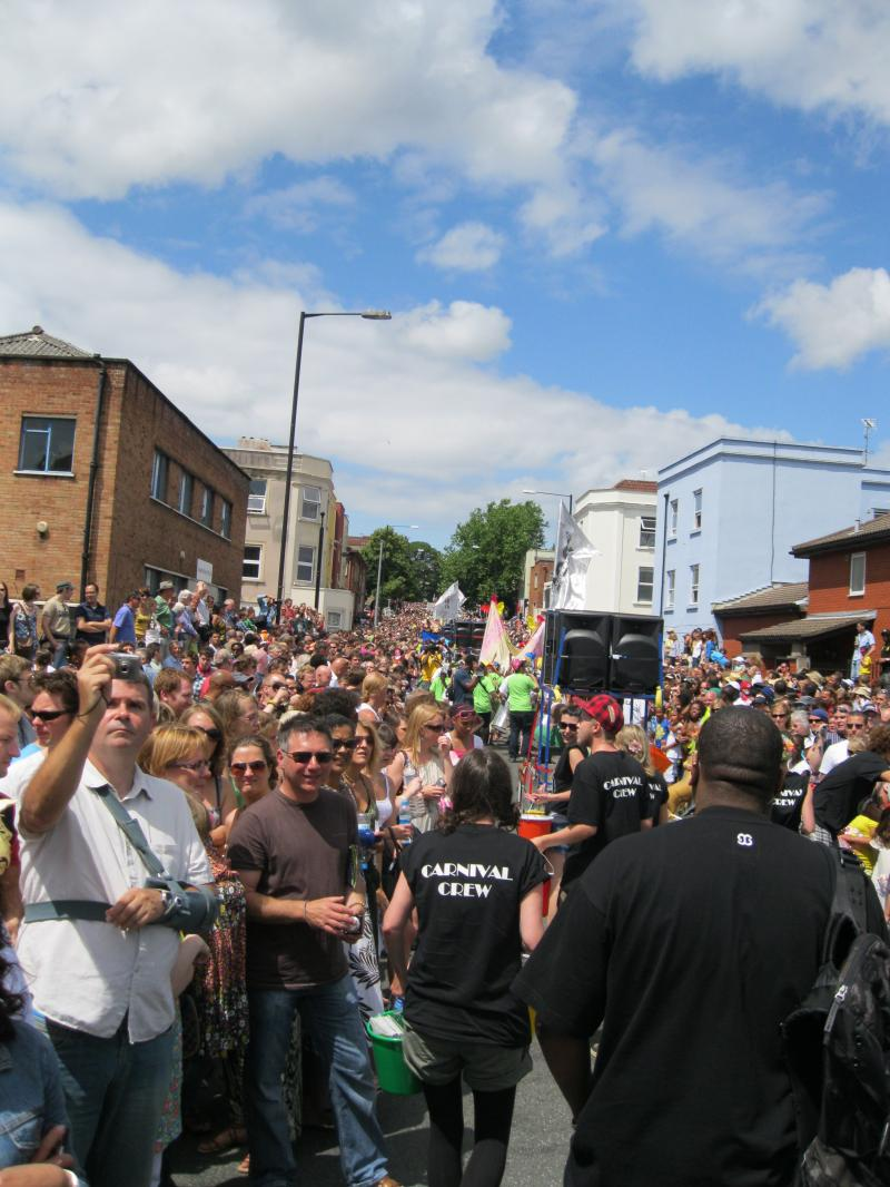 St PAul Carnival Crowds