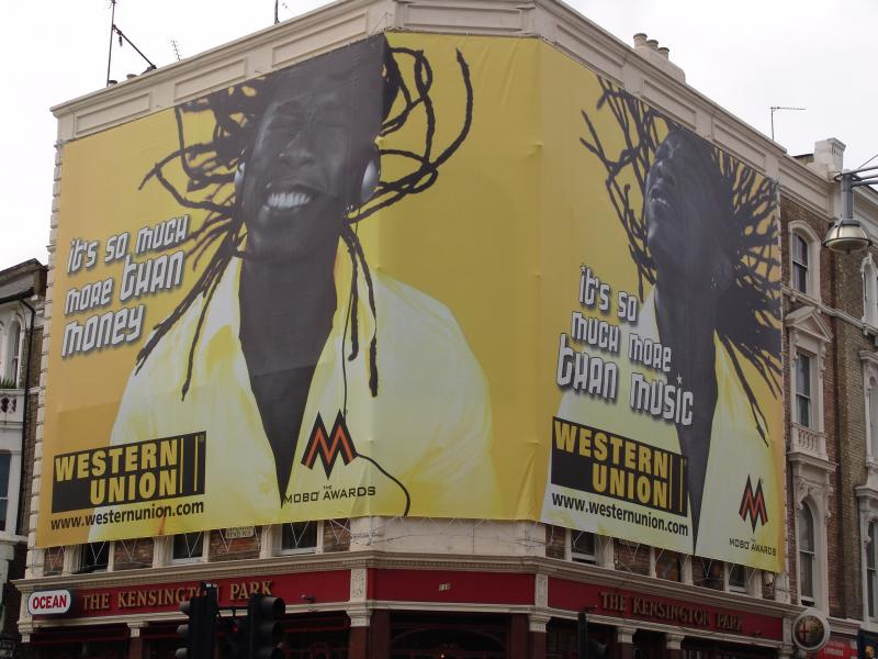 Western Union Bill Board
